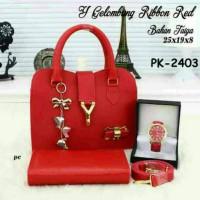 Harga tas paket murah tas wanita tas fashion trendi tas lokal dompet | Pembandingharga.com