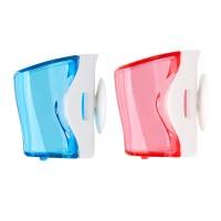 Flipper Basic isi 2, Biru & Pink (Tempat Sikat Gigi unik & praktis)