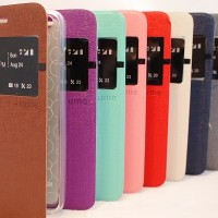 Ume Leather Flip Cover Casing Asus Zenfone C Casing Hp