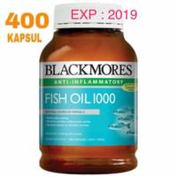 Jual Blackmores Fish Oil 1000mg (400 caps) Murah