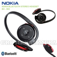 Headset Bluetooth Nokia BH-503 Stereo / Headphone bluetooth compatible