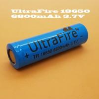 Baterai 18650 UltraFire 6800mAh Original Vapor Vaporizer Vape battery