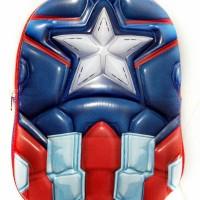 Tas Avengers Captain America Tas Anak Import Tas Sekolah Sd Kado Ultah