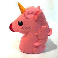 Squishy Unicorn Uni Corn Kuda My Little Pony Horse Squizee Pink