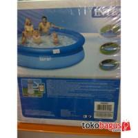 Kolam Renang Easy set merk Intex uk. 244 x 76 cm dgn filter