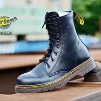 Jual Sepatu couple dr marteen pria wanita / sepatu boots casual kulit murah Murah