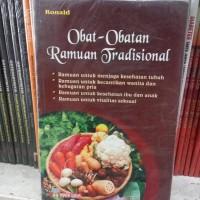 OBAT-OBATAN RAMUAN TRADISIONAL