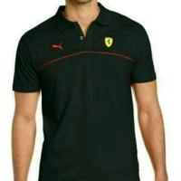 Kaos Pria Kaos Polo Shirt BIG SIZE XXXL PUMA FERRARI