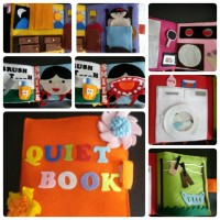 Jual Buku Bantal / Quiet Book / Busy Book / Soft Book / Mainan Edukasi Murah