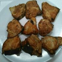 Ikan manyung/jambal roti asap irisan/badan 40gr asli Juwana