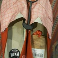sepatu wakai 100% original store size 42-45