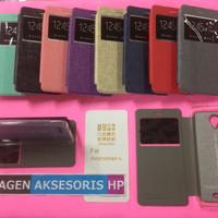 Flip Cover UME Oppo F1 Plus F1+ R9 R9+ R9 Plus Leather Case Sarung HP