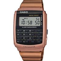 CASIO CA-506C-5A Data Bank Calculator watch Rosegold Digital ORIGINAL