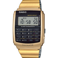 CASIO CA-506G-9A Data Bank Gold Calculator watch Digital ORIGINAL