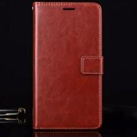Leather Flip Cover Wallet Samsung J710 / J7 2016 Dompet Case Kulit HP