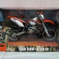 JOYCITY 1:12 Trail KTM 350 EXC F 2014 Diecast Miniatur Motor Cross