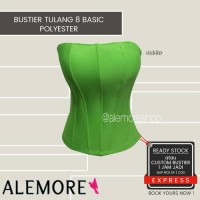 bustier tulang8 stabilo bahan polyester
