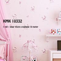 Wallpaper Hello Kitty Pink 10332 (uk 45cm x panjang 10 meter)