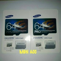 Microsd Samsung 64gb class 10 bonus adaptor