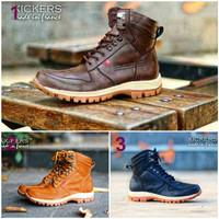 harga Sepatu Kickers Boots Arl Safety Kulit Asli Original Handmade Tokopedia.com