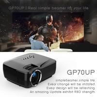 Jual proyektor mini terbaik projector GP70UP wifi bluetooth infocus murah Murah