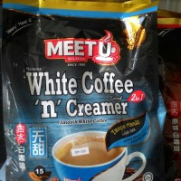 meet u white coffee n creamer 2in1