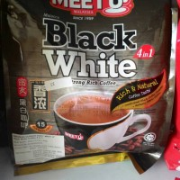 meet u black white coffee 4in1