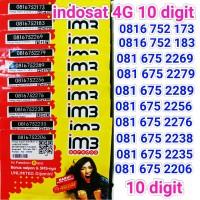 harga kartu perdana nomor indosat im3 / mentari 4g ooredoo 10 digit murah Tokopedia.com