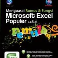 Buku Menguasai Rumus Dan Fungsi Microsoft Excel Populer Untuk Pemula