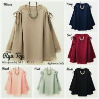 GAMIS SYAR'I/BAJU MURAH/BLOUSE/TUNIK/HIJAB/DRESS/RYU TOP