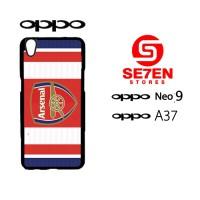 Case Oppo Neo 9 (A37) arsenal 8 Custom Hardcase Casing Cover