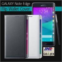 Jual Case  |  SAMSUNG Flip Wallet Galaxy Note Edge Original Murah