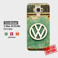 Jual LIMITED case Asus Zenfone 3 Max ZC553KL VW Retro Volkswagen hardcase Murah