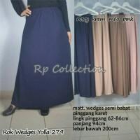 Jual Rok Panjang Wedges / Rok Maxi / Rok A line Hijab Yolla 279 Murah