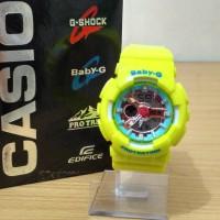Jam Tangan G Shock Baby G BGA-110 Hot Yellow