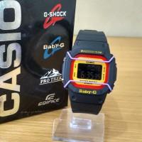 Jam Tangan G Shock Baby G BGD500 Black Yellow