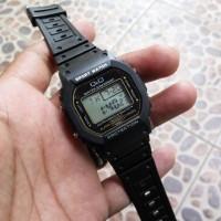 Qnq model casio g shock dw 5600 black hitam gshock jam tangan qq