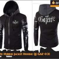 [JJGAZ 03] THE GAZETTE HYBRID JACKET HOODIE