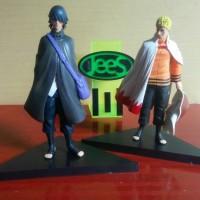 1 Set Action Figure Hokage Naruto & Sasuke / Pajangan / Boruto / Hobi