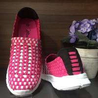 harga Sepatu Anak / Slip On / Import Korea - Fuchsia Tokopedia.com
