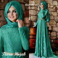Wanita Muslim Baju Hijab Gamis Tiara Maxi Tosca 3in1 MURAH