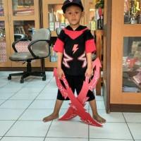 Jual Paket Boboiboy Halilintar (2pedang, Topi, Gelang, Kostum) Murah