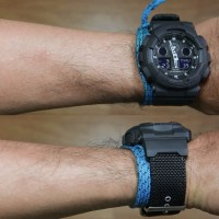 Casio G-Shock GA-100BBN-1A CLOTH BAND
