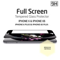 Jual TEMPERED GLASS IPHONE 6/6s/6+/6s+ PLUS FULL COVERAGE 3D CURVED Murah