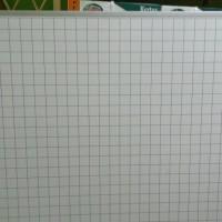 MAGNETEC Whiteboard Papan Koordinat Kotak Kotak 120 x 120