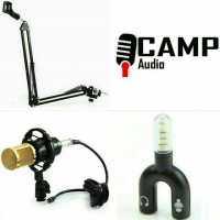 BM 800 + Stand mic arm + Splitter audio U