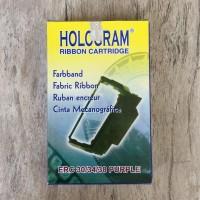 Pita ribbon cartridge Hologram utk Epson ERC-38 Purple