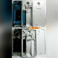 Casing Samsung S4 i9500 Fullset White/Black Original