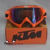 Goggle Import Kacamata Sepeda Motor Motocross KTM bukan Snail Vega