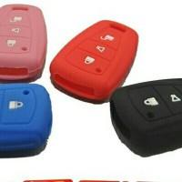 Kondom Kunci Silicon Key Sarung Remote Kunci Toyota Agya / Ayla